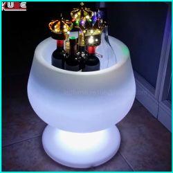 PET Eis-Wannen-Farbe Changeble Eis-Wanne LED-FernCotro