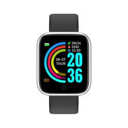 La presión arterial RoHS barato al por mayor moda mujer Bluetooth con pantalla táctil de electrónica digital inteligente de deporte relojes de regalo de la muñeca Y68