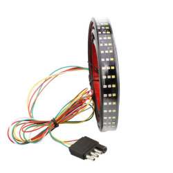 Stoplicht Drie van het Systeem van de Verlichting van Tcart AutoRijen van 1.5m het Drie Achter LEIDENE van Kleuren White+Red+Yellow 2.5W IP65 2835 12V Licht van de Strook