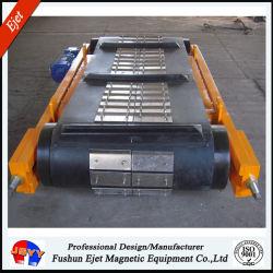 Séparateur de déchet métallique de matériaux de convoyeur à bande d'armure