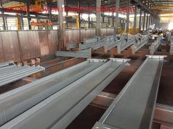 Faisceau de colonne H galvanisé et matériaux de construction de structures en acier