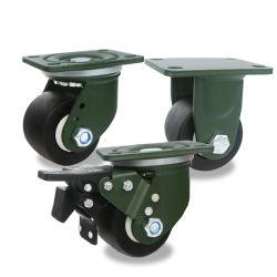 [بلك] بلاستيكيّة منتوج نيلون [لوو بروفيل] ثقيلة - واجب رسم يدحرج كرسيّ ذو عجلات حامل متحرّك عربة يد عجلة سابكة