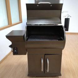 Eléctrica de alta calidad de pellets de madera grandes fumador barbacoa para exterior