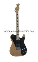 Corps de cendres Black Block Inlay Tele guitare