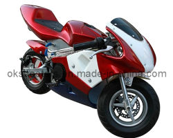 Компания Gas Powered Super Детский велосипед 49cc Mini Pocket Bike