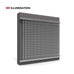 실외 방수 LED 비디오 디스플레이 커튼 플렉시블 스크린