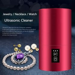 Nouvelle Mode cadeau Bijoux Lunettes Accueil Mini nettoyeur ultrasonique