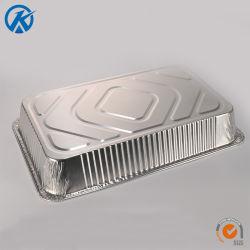 Tiefe Dampf-Tisch-Wannen-Aluminiumfolie-Wannen-Aluminiumfolie-Größengleichwanne