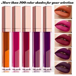 Logo de marque privée cosmétiques brillant à lèvres maquillage matte liquide du tube de rouge à lèvres de package