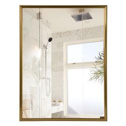 Venda por grosso de 5 mm de cor dourada Decoração Sala de Espelhos de parede