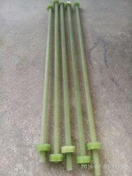 Transforme R를 위한 Anti-Corrosion 기업 밝은 초록색 색깔을%s 에폭시에 의하여 강화되는 FRP 놀이쇠 그리고 견과