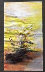 Pittura a olio moderna della tela di canapa della decorazione della parete del salone in linea
