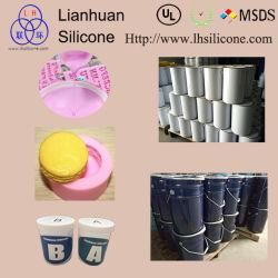Translucide de haute qualité en caoutchouc de silicone RTV-2 liquide pour le gâteau