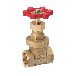 Comercio al por mayor de 1/2 a 4 pulgadas de latón forjado fecha de entrega cortos Válvula de compuerta de agua