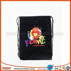 Настраиваемый логотип печати красочные ткани кулиской подарочный пакет для поощрения