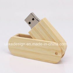 Natural Houten Usb Flash Memory Sleutelhanger Pendrives Usb-Driver