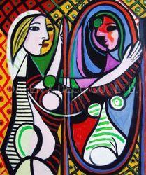 Picasso Peinture d'huile pour la décoration d'accueil