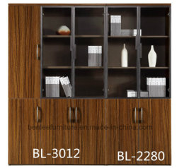 Mobilier de bureau moderne en bois armoire de fichiers / Bibliothèque-2280/3012 (BL)