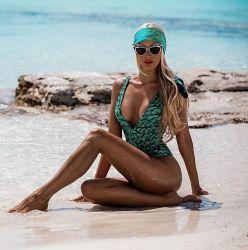 Casquilhos inteiriços, Swimsuit bandagem Sexy Fish-Scale Monokini de impressão