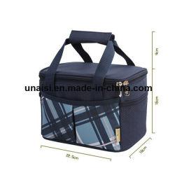 Sacoche de transport thermique de pliage bouteille Junket déjeuner pique-nique sac du refroidisseur