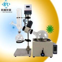 Evaporatore rotativo di piccolo del laboratorio di Rotavap vuoto elettrico del riscaldamento