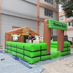 Simulator-aufblasbarer Sport-mechanisches Bull-aufblasbares Maschinen-Rodeo Bull