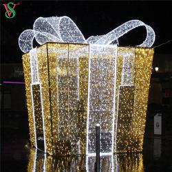Рождество коммерческих большая прогулка через 3D присутствует поле Символ освещения