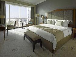 Venda por grosso de madeira sólida de tamanho personalizado moderno Hotel 5 Estrelas quarto conjunto de móveis