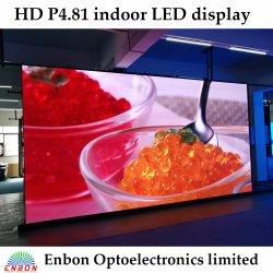 Vordere Innen-LED Bildschirm-Bildschirmanzeige der Pflege-P4.81 mit justierbarem Lichtbogen