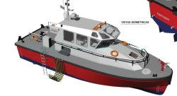 Китайский 14м 46FT стали экспериментальных большой скорости судна для продажи в Великобритании