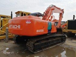 Gebruikte Hitachi ex200-3 het Hydraulische Graafwerktuig van het Kruippakje van Hitachi 20ton van het Graafwerktuig Originele
