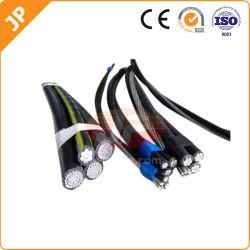 0,6--25kv câble approuvé de la SBSA XLPE ABC câble aérien les fils électriques