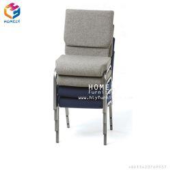 教会椅子のシートをスタックする広州の卸し売り強い金属