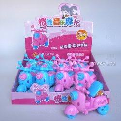 사탕 장난감을%s 가진 저속한 음악 기관자전차 장난감