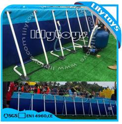 Châssis métallique de la piscine en plein air piscines au dessus du sol Cadre en métal pour l'été