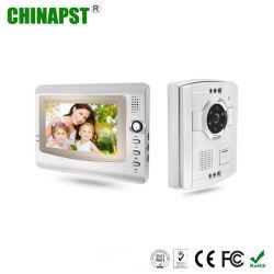 Moniteur couleur LCD le moins cher en mains libres filaire sonnette vidéo (PST-VD906C)