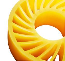 Caja de cartón máquina de impresión de la rueda de la alimentación de la rueda de Sun.