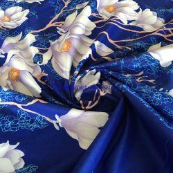 큰 꽃은 100%년 폴리에스테 직물, 가족 리넨 직물을 인쇄했다