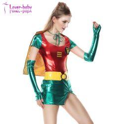 Смешные стороны Sexy Lady Робин костюм L1193