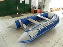 3,8 m bateau sport gonflable avec l'aluminium/tapis d'air/sol en bois pour la pêche/Racing/Entertainment