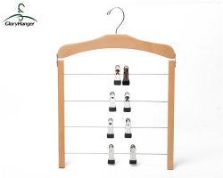 La nature de la peinture crochet de suspension en bois pour le pantalon / serviette (GLHH103)