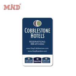 Hotel de PVC personalizado Cartão Chave de RFID com pé magnético
