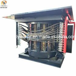 강철 프레임 중간 주파수 유도 전기로 강철 금속 용융 제련