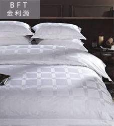 Jacquardwebstuhl-Baumwolschlafzimmer-Bettwäsche-gesetzter Hotel-Typ einzelne Bettwäsche