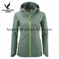 Mujer acolchado/Dama/ Damas Ropa exterior de poliéster Causal chaqueta impermeable