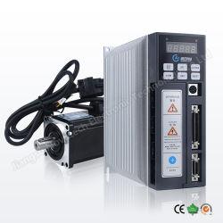 中国安いACサーボMotor200W 400W 600W /ServoモーターかサーボモーターまたはサーボArduino/およびサーボドライバーまたは駆動機構またはサーボ制御またはコントローラまたはサーボ・システム