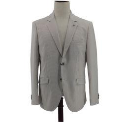 Ajuste Personalizado Seersucker hombres chaqueta de algodón deporte untar