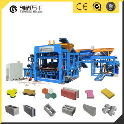 Qt 12-15 Formulaire de Presses de verrouillage hydraulique de machine à briques écologique