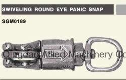 Rotação do anel redondo de aço inoxidável articulada de atração de Pânico