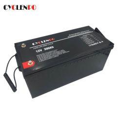 Factory Direct de la batterie au lithium LiFePO4 Loisirs 12V 300Ah pour RV Marine Yacht Motorhome